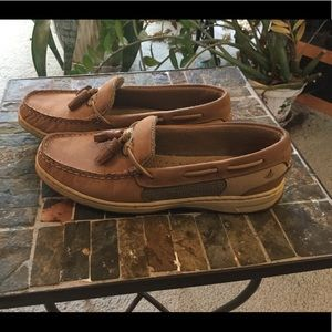 SPERRY TOP-SIDER WOMENS TASSEL SHOES 6
